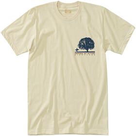 Hippy Tree Oak Kortærmet T-shirt Herrer beige
